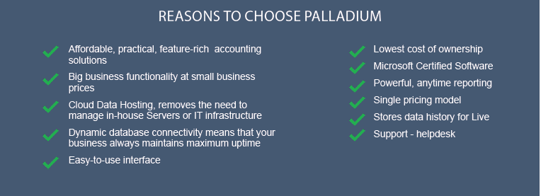 reason to choose palladium