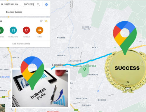 The link between Google Maps and a Business Plan