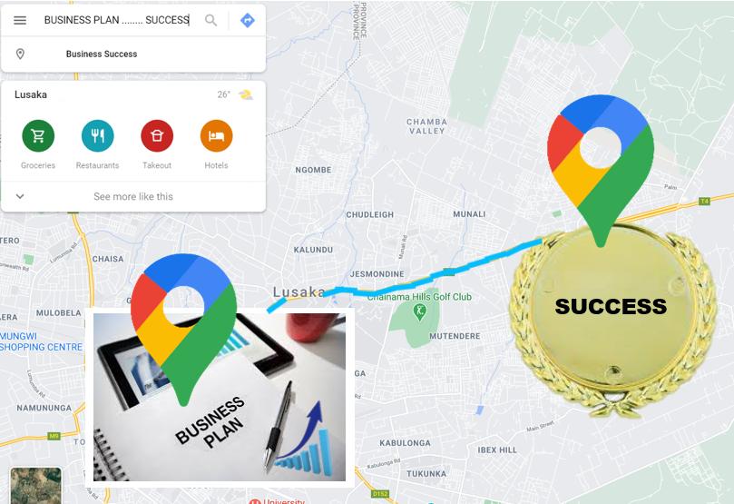 Business Plan Map